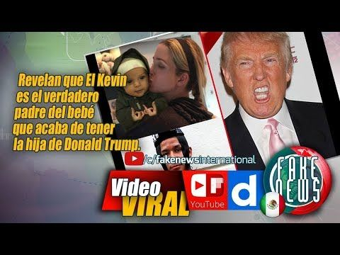 Love a good video? Plug in for this one. El Kevin es el verdadero padre del bebé que acaba de tener la hija de Donald Trump https://youtube.com/watch?v=ljahJNDJ_yQ