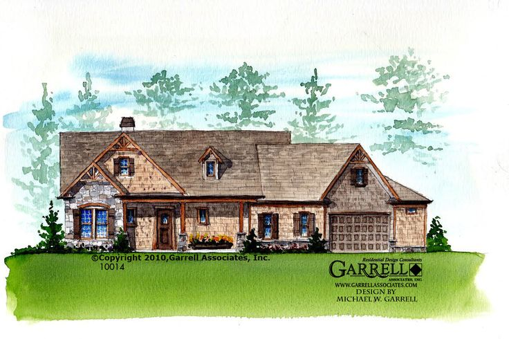 garrell associates inc hot springs cottage iii house plan