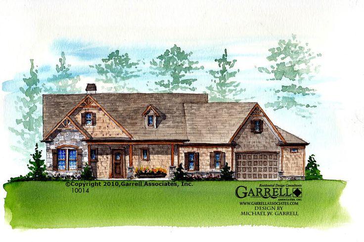 Garrell Associates Inc Hot Springs Cottage Iii House Plan