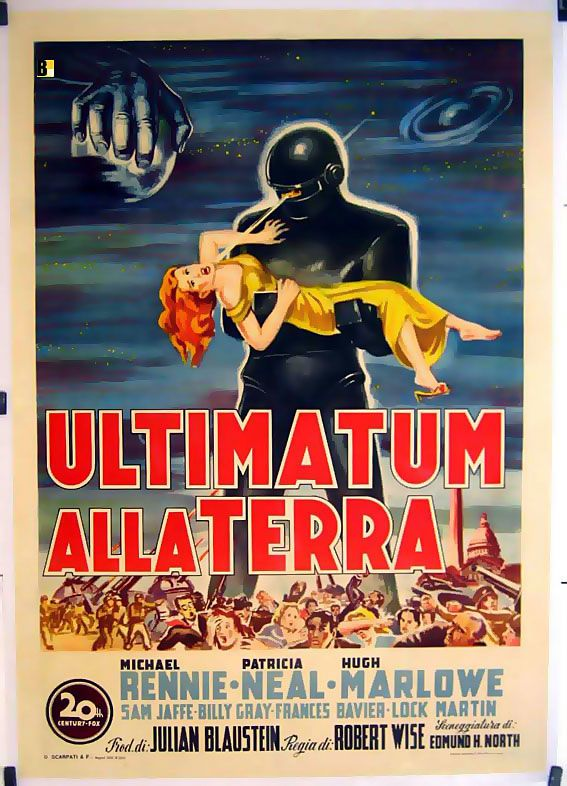 ultimatum alla terra 1951