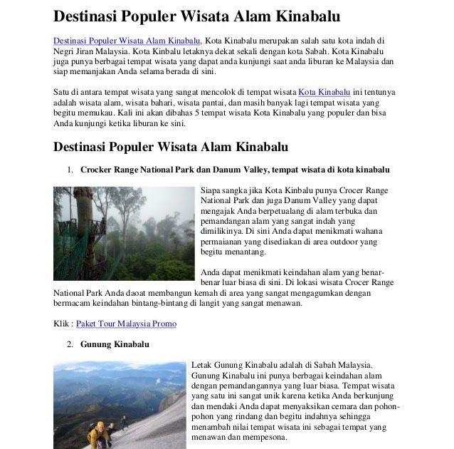 34 Pemandangan Alam Adalah Destinasi Populer Wisata Alam Kinabalu Download Pemandangan Alam Yang Selalu Dinantikan Saat Mengunjun Di 2020 Pemandangan Alam Gambar