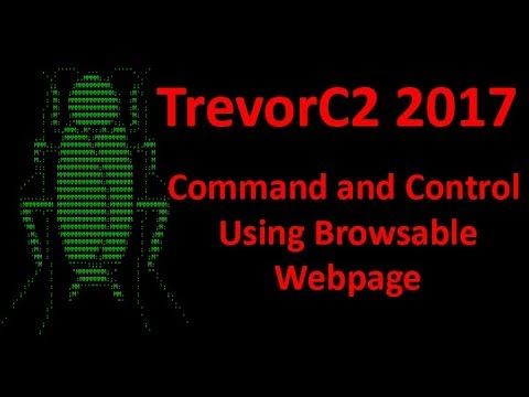 TrevorC2 - Command and Control Over Browsable Webpage - Kali 2017.2  ||  For Complete Information and Download Links visit http://hackersgrid.com/2017/10/trevorc2.html Information Security Consulting company TrustedSec has announc... https://www.youtube.com/watch?feature=youtu.be&utm_campaign=crowdfire&utm_content=crowdfire&utm_medium=social&utm_source=pinterest&v=GvEva5tbqpE