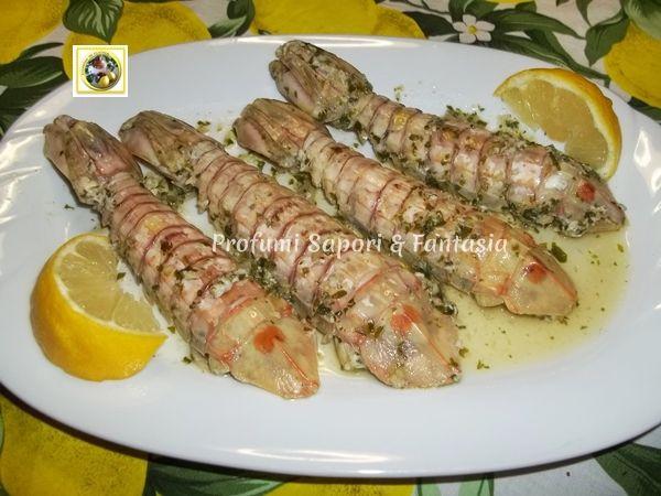 Canocchie alla marinara ricetta facile Blog Profumi Sapori & Fantasia