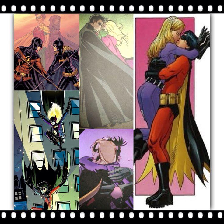 Batgirl and robin romance - photo#21