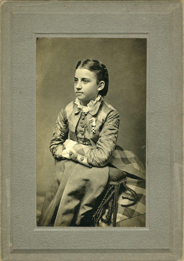 Julia Laura Jackson...Stonewall Jackson's daughter