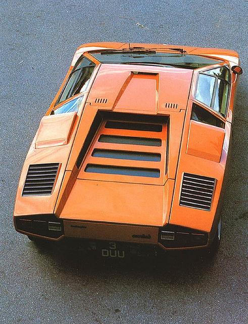 """Lamborghini Countach LP400 """"Periscopo."""""""