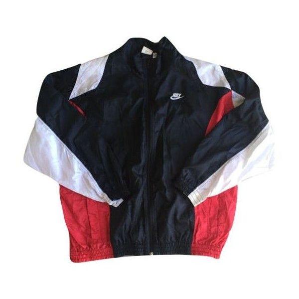 Vintage Nike Windbreaker Jacket Men Women Unisex Clothing Rain jacket ❤ liked on Polyvore featuring men's fashion, men's clothing, nike mens clothing, men's apparel, vintage men's fashion, vintage mens clothing and nike mens apparel