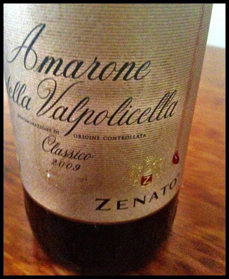 El Alma del Vino.: Azienda Vitivinicola Zenato Amarone della Valpolicella Classico 2009.