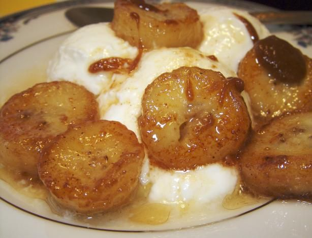 Easy Bananas Foster Recipe - just did it and it turned out amazing!!!