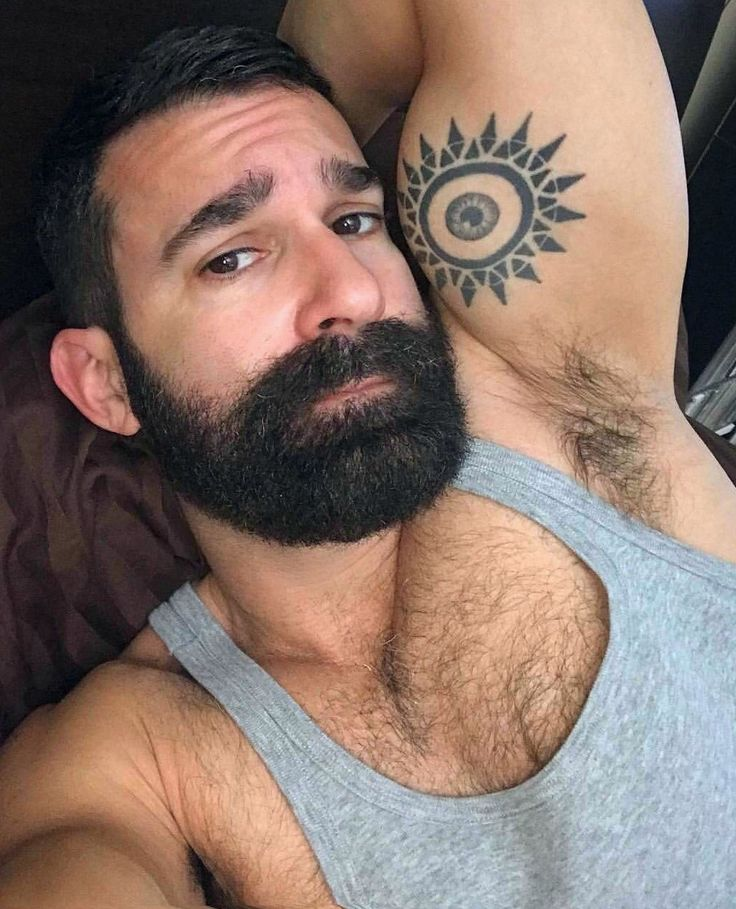 Sweaty hairy and lickable