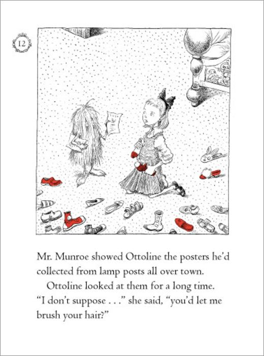 Chris Riddell: Ottoline Chapter Book Spread