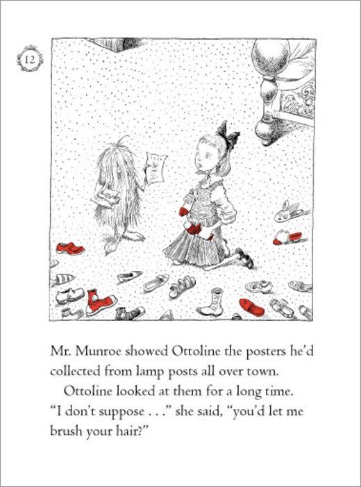 Chris Riddell: Ottoline Chapter Book Spread