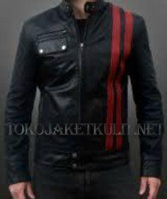 Model Jaket Kulit Pria; Kode:A-034