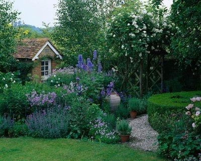 Les 17 meilleures images concernant garden jardin 3 sur for Jardin anglais caracteristiques