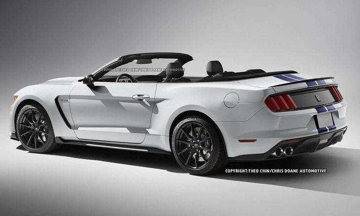 2015 #Ford Mustang Shelby GT350 #Convertible Render