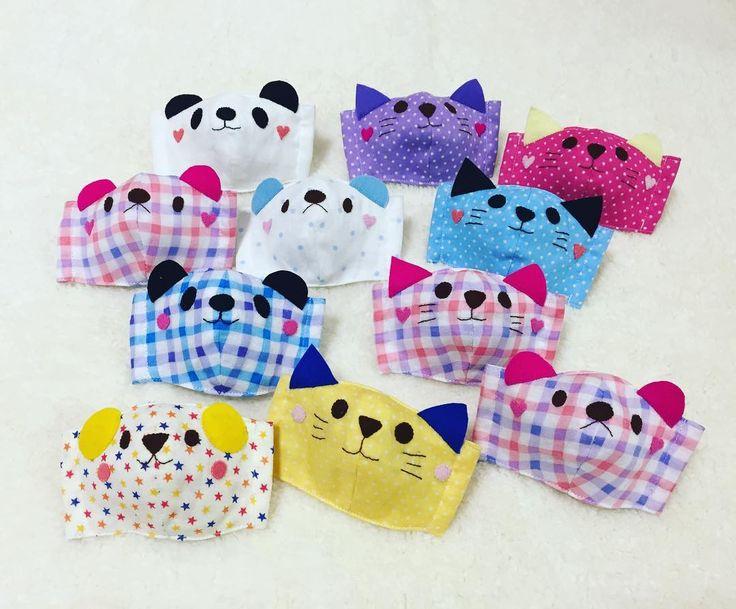 寒い時期の必需品♪手作り立体マスクがおしゃれすぎる♡   Handful