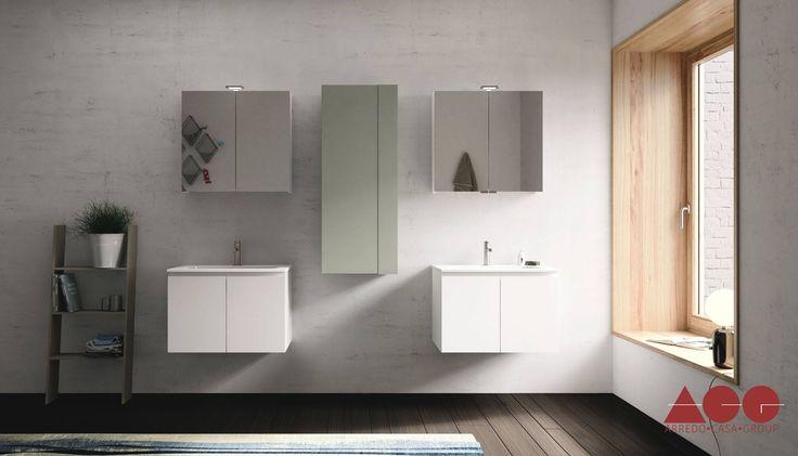 The unique Bathroom FL12, modern and luxurious.  #ArredoCasaGroup #MadeInItaly #italiandesign #luxury #bathroom
