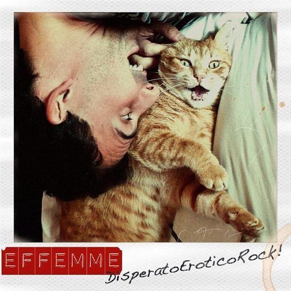"""Filippo Marchegiani in arte EFFEMME, """"DisperatoEroticoRock"""