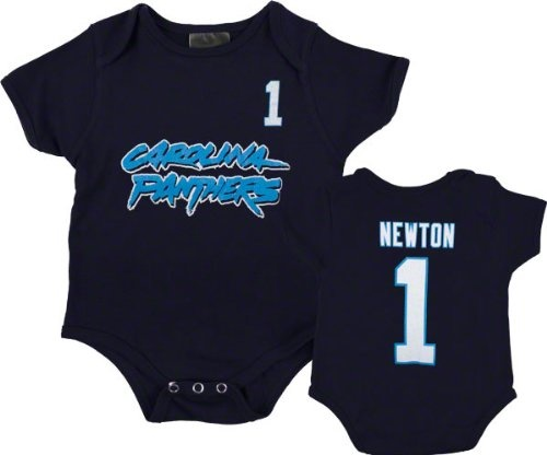 Cam Newton Black Carolina Panthers Newborn Reebok « Clothing Impulse