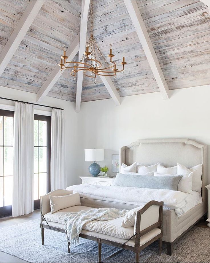 20 Bedroom Designs With Vaulted Ceilings: Montauk Body Pillow With Insert