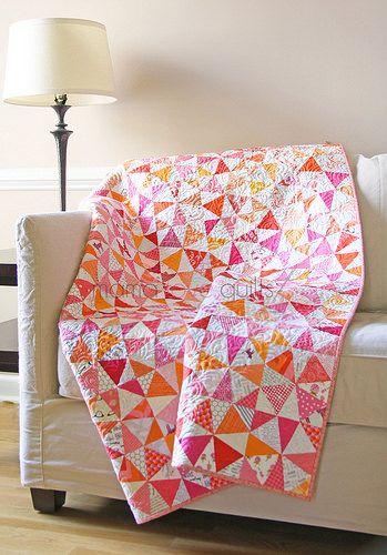 Kaleidoscope Quilt - mamalovequilts
