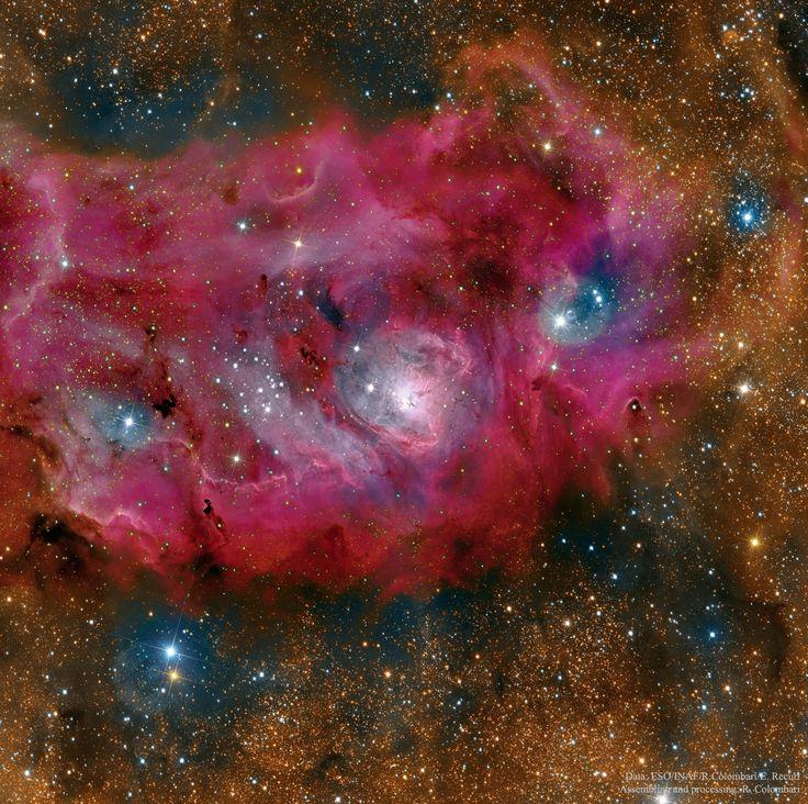The Lagoon Nebula in High Definition  Image Credit & Copyright: Data - ESO/INAF/R. Colombari/E. Recurt; Assembling & Processing: R. Colombari