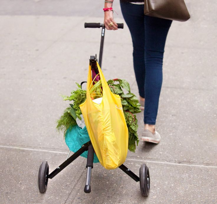 Detailed information on Bucket Hand Carts and Folding Grocery Carts. Where to Buy and How to Build Your Own