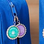 How To Make Bottle Cap Zipper Pulls for LDS Primary 2014