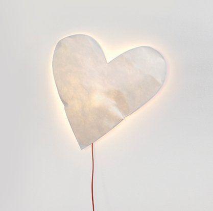 Wandlamp /// Heart