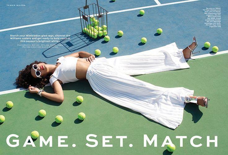 The March 3, 2015, issue of Stylist Arabia spotlights tennis fashion #TennisPlanet www.tennisplanet.com