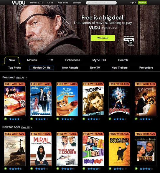 You can watch historical, period & costume dramas online for free on VUDU's Movies on