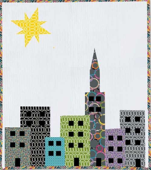 21 best dibujos de ciudades images on Pinterest   Pattern ... : quilt city - Adamdwight.com