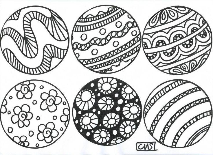 Ma classe: bientôt Noël ter inspiratie om zelf een bal vol te tekenen