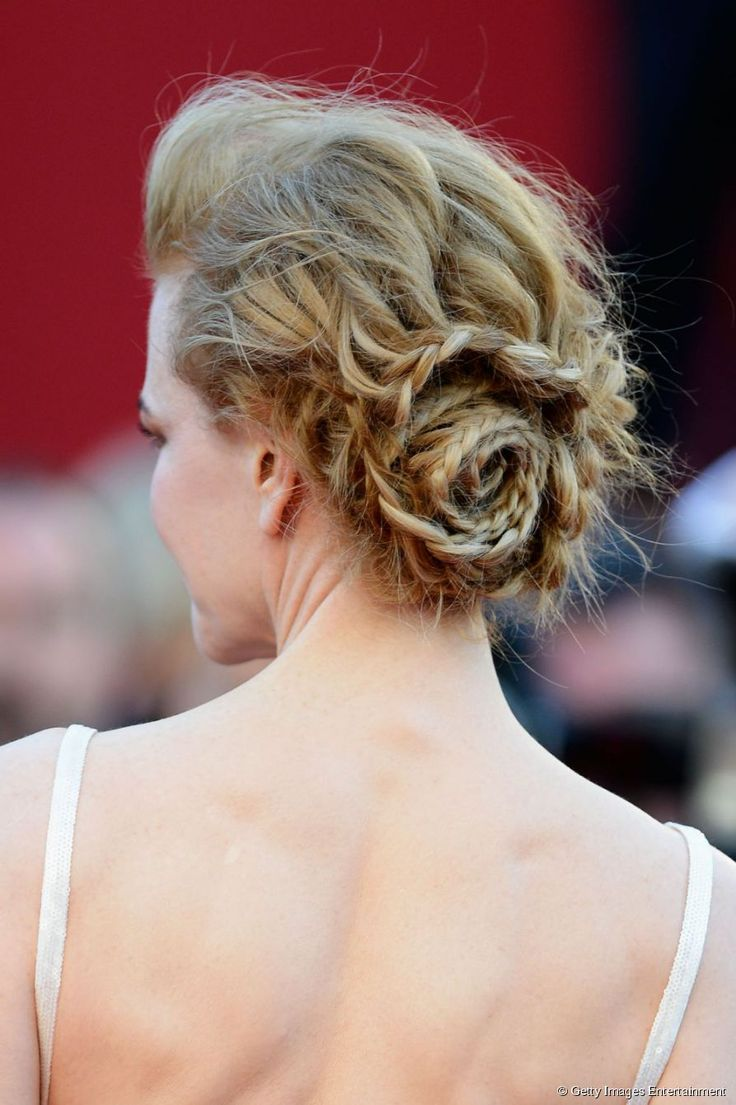 Nicole Kidman's perfect braided crown #cannes2013 #messyhair