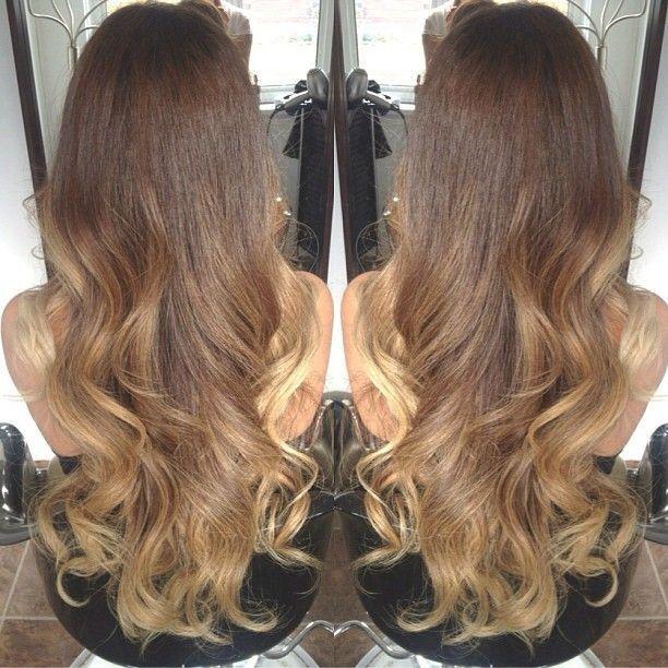 Light brown to blonde ombre | Hår | Pinterest | Highlights ...