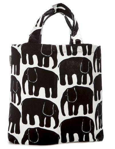 Finlayson Elefanttti shopping bag | Elefantti-kauppakassi 17 €