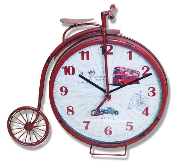 Grandi Eskitme Metal Saati  Ürün Bilgisi ;  Ürün maddesi : Metal ve gerçek cam kullanılmıştır Ebat : 33 cm x 29 cm Grandi Eskitme Metal Saati Şık ve hoş masa saati Mekanizması (motoru) : Akar saniye, saat sessiz çalışır Saat motoru 5 yıl garantilidir Masa Saati sağlam ve uzun ömürlüdür Kalem pil ile çalışmaktadır Gördüğünüz ürün orjinal paketinde gönderilmektedir. Sevdiklerinize hediye olarak gönderebilirsiniz