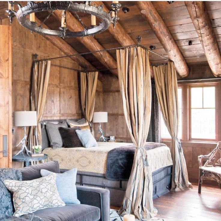 19 Log Cabin Home Décor Ideas: 17 Best Ideas About Log Cabin Bedrooms On Pinterest