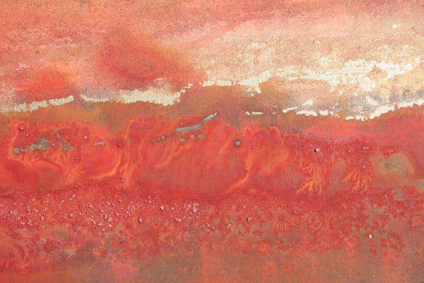 """Gemsbok Fire 01"" by Melanie Meyer from her Emergence art Gallery in Cape Town"