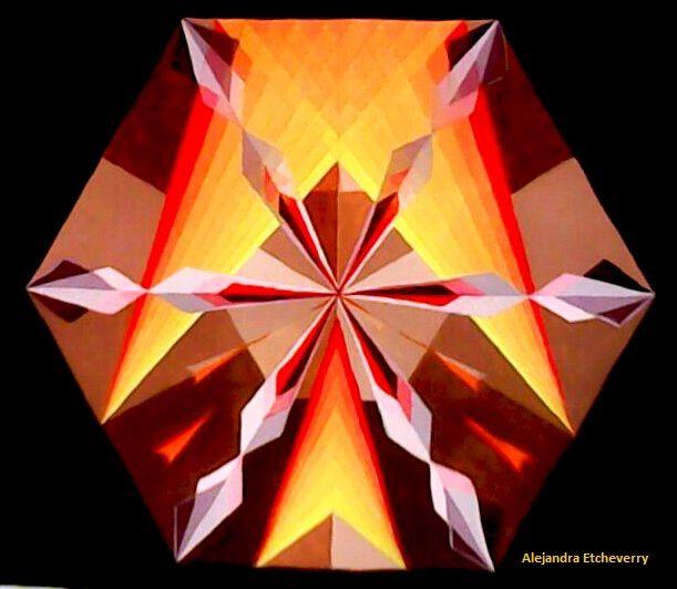 Título: Cristal - Tempera - San Luis, Argentina - Autora: Alejandra Etcheverry