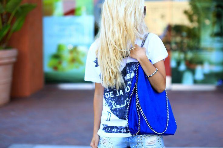 Doe-het-zelf: handtas met schakeltjes