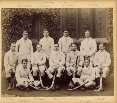 Cambridge University Hockey Club circa 1912