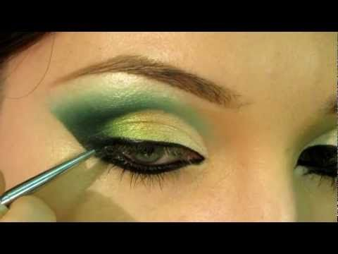 !!!!!!!!! Arabic makeup 1 /// Арабский макияж 1 (ENG SUBs) - YouTube _ the technique
