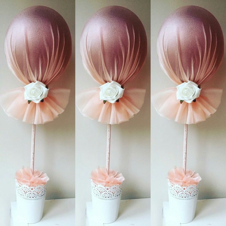 Balloons with tulle projects pinterest babies