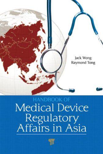 I'm selling Handbook of Medical Device Regulatory Affairs in Asia by Jack Wong and Raymond Tong Kaiyu - $60.00 #onselz