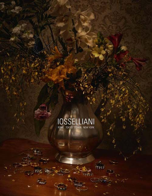 IOSSELLIANI has presented the first image of the new fall/winter 2013 advertising campaign shot by photographers Tania Brassesco and Lazlo Norberto Passi at their studio in Padua (Italy).