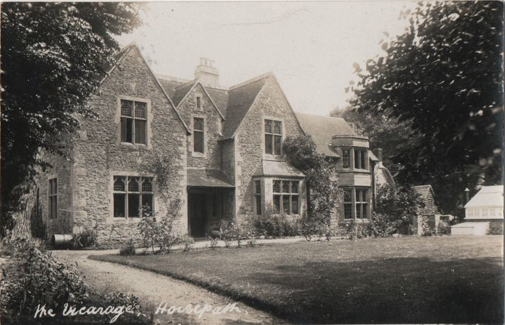 THE VICARAGE, HORSPATH. in Collectables, Postcards, Topographical: British   eBay
