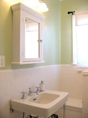 Good Home Constructions Renovation Blog: Updating a 1920s Bathroom
