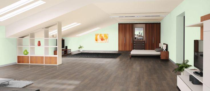 der klick vinyl boden project eiche classic mit einer robusten nutzschicht von 0 55 mm einem. Black Bedroom Furniture Sets. Home Design Ideas