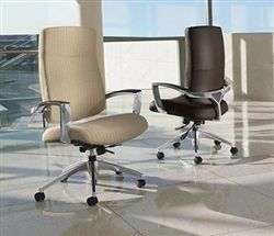 OfficeFurnitureDeals.com provides high end office chairs for sale for the executive office that won't break your budget. #OfficeChairs #LeatherChairs #DesignerOfficeInteriors